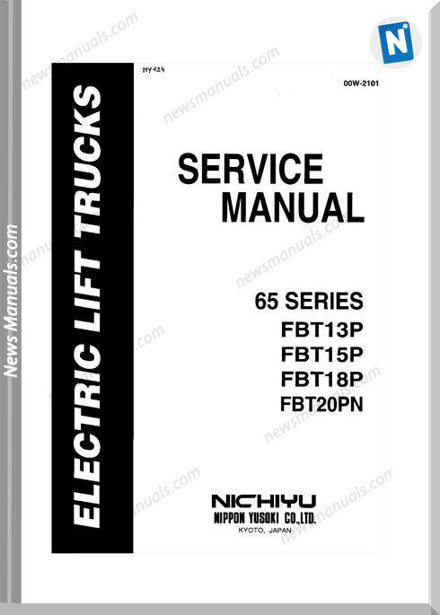 Nichiyu Forklift Fbt13 15 18 20P Sicos 65Service Manual