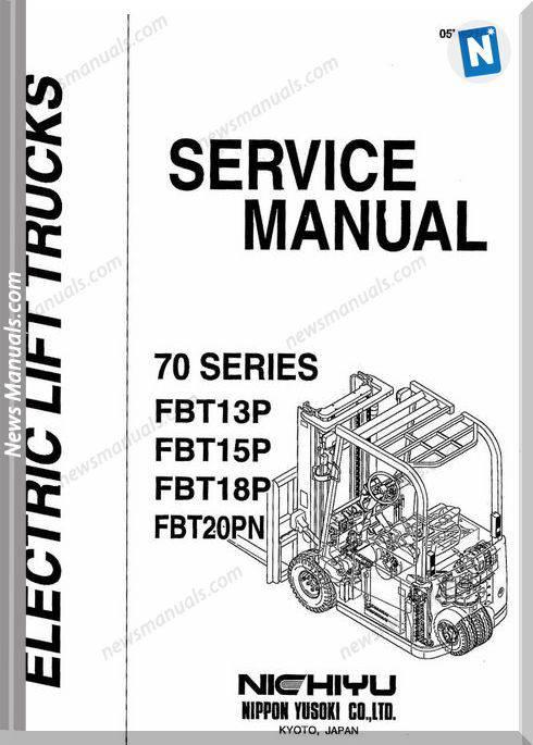 Nichiyu Forklift Fbt70 Ac-13-15-18P-20Pn Service Manual