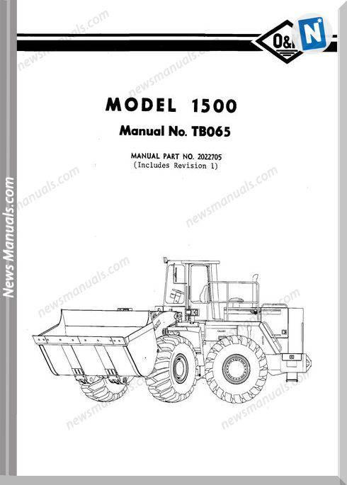 O K 1500 Models Part Manual