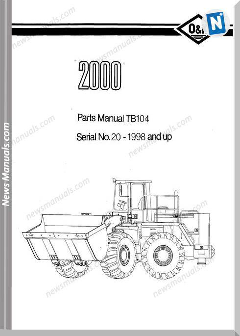 O K 2000 4 Models Part Manual