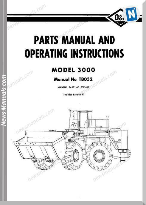O K 3000 Models Part Manual