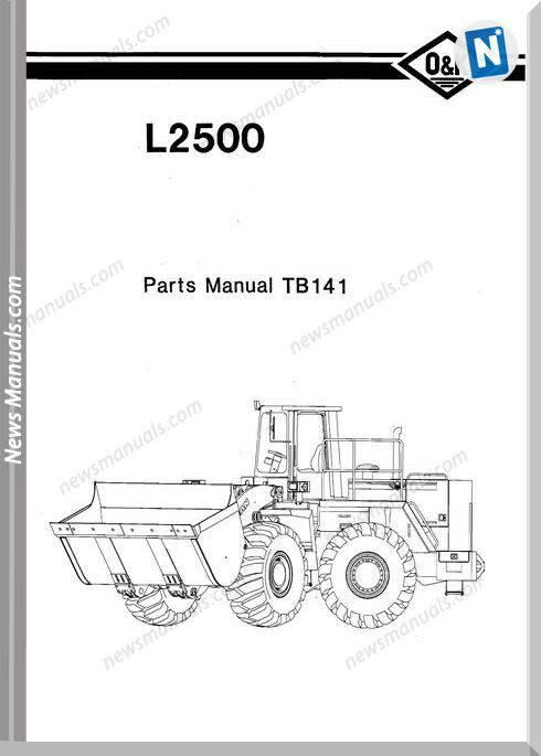 O K L2500 Models Part Manual