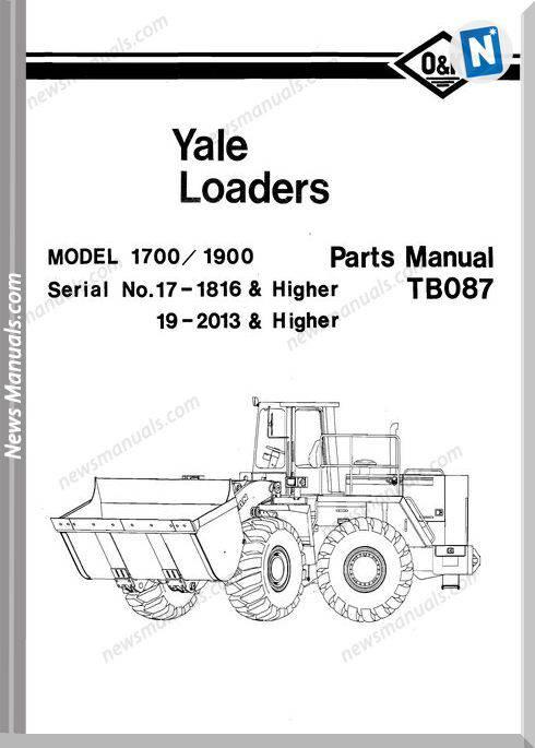 O K Model 1700 1900 2 Part Manual