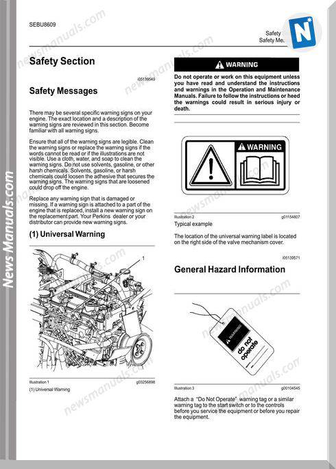 Perkins 403F-15T,404F-22 404F-22T Operation Manual
