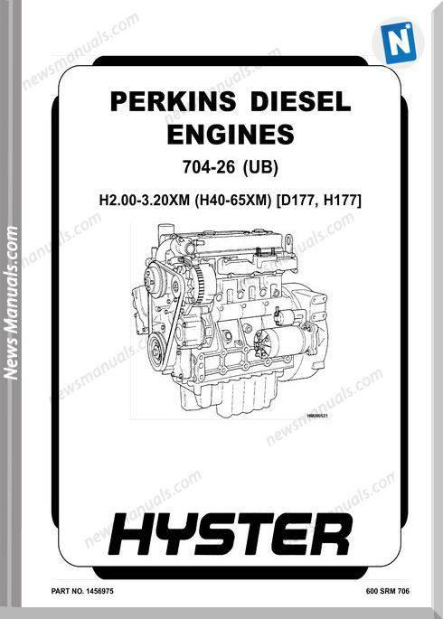 Perkins 704-26 (Ub) (2.6L) Engine Repair Manual