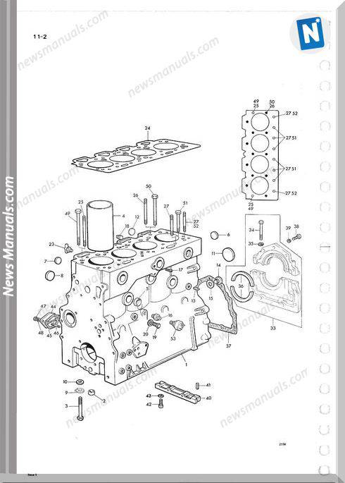 Perkins Engine 4 248 Part Manuals