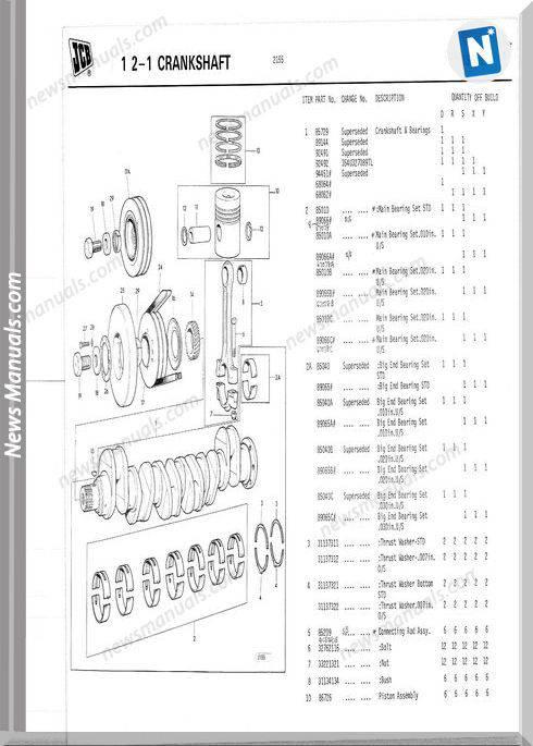 Perkins Engine T6354 9802 2162