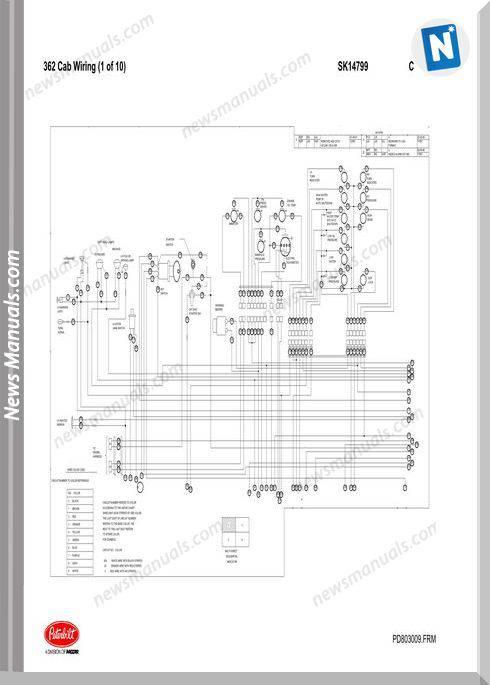 1986 peterbilt 359 wiring diagram volvo diagrams v70 schematics pb362 cab schematic sk14799 18