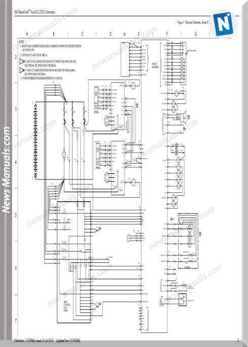 Raymond Forklift Easi Lift Truck Ez Et Es Dz Schematics