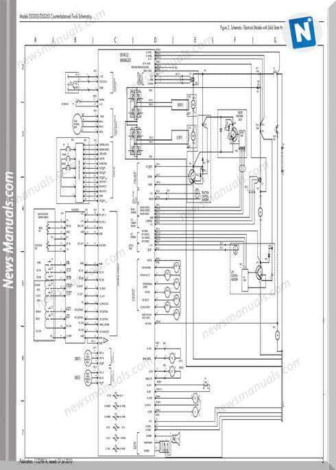 Raymond Forklifts Dss300 350 Sn5000Up Schematics Manual
