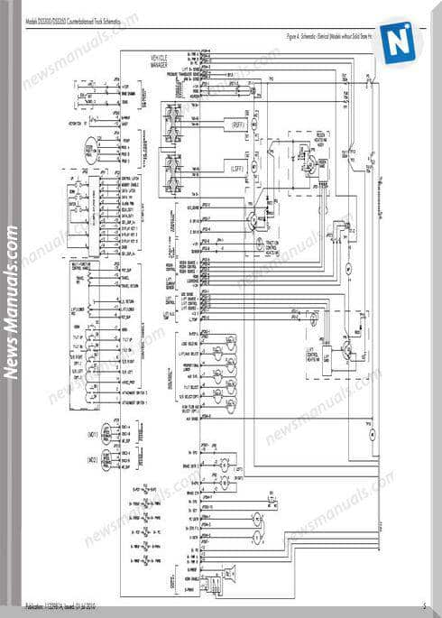 Raymond Forklifts Dss300 350 Sn5000Up Schematics Manual