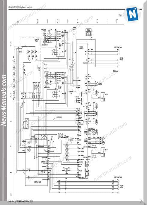 Raymond Forklifts Models 9600 9700 Schematics Manual