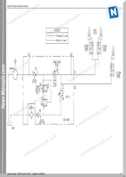 Raymond Forklifts S 5200 Sn 1000 Up Schematics Manual
