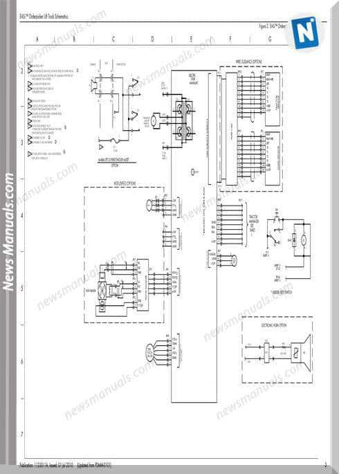 Raymond Oderpicker Lift Truck 15000 Up Schematics