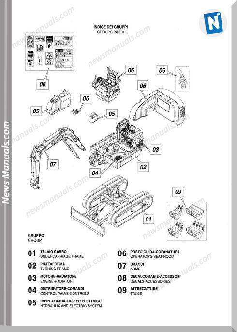 Scat Trak 224S 8990398 Parts Book