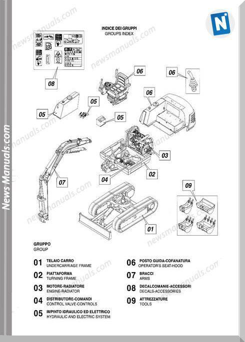Scat Trak 234S 8990399 Parts Book