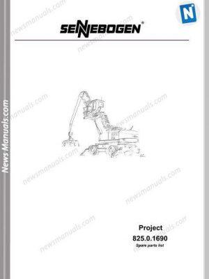 Linkbelt Excavators 130 Lx Part Manual