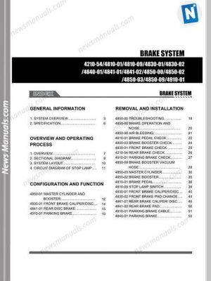 Bobcat A300 All Wheel Steer Service Manual