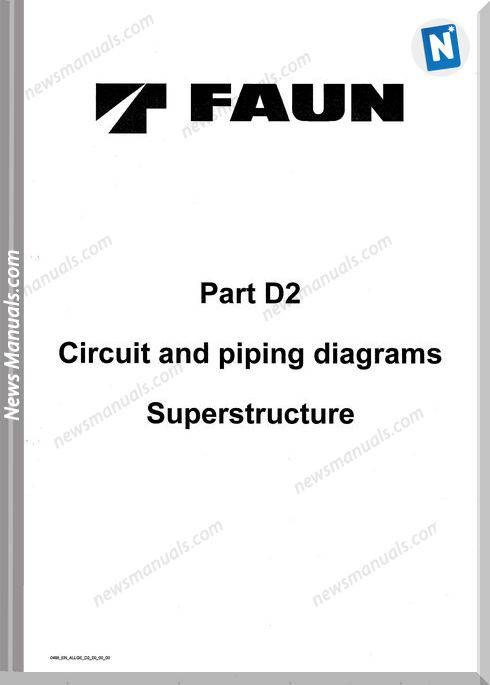 Tadano Faun Circuit Piping Diagrams Superstructure