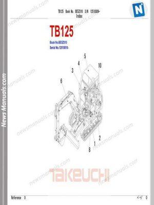 Download TAKEUCHI parts manual DVD All Model • News Manuals