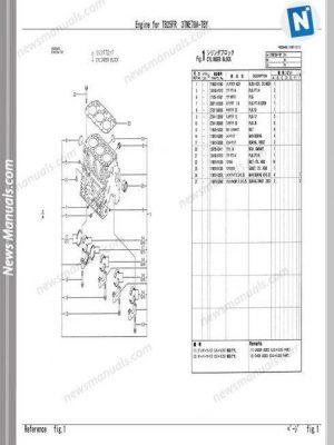 Isuzu Elf 4Hk1 4Jj1 Engine Repair Manual
