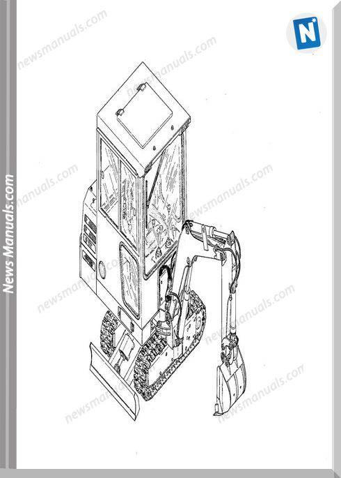 Takeuchi Tb14 Tb 14S Diesel Backhoe Parts Catalogue