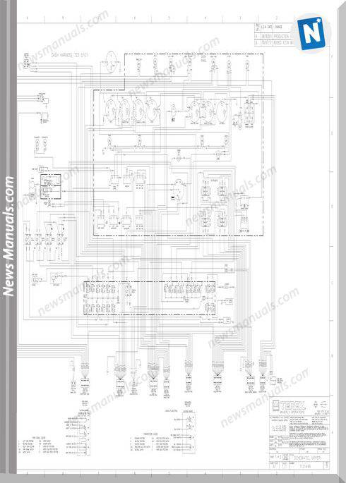 Terex Crane Rt230-1 Electrical And Hydraulic Schematic
