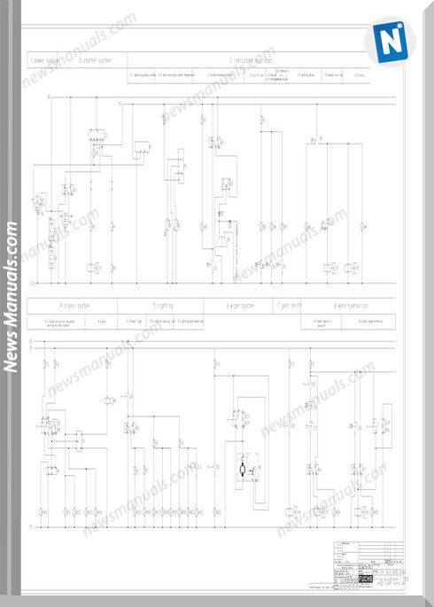 Terex Fuchs Mhl350 Electric Schematic