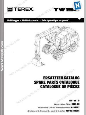 Volvo Twd1643Ge Industrial Engine-Workshop Manual