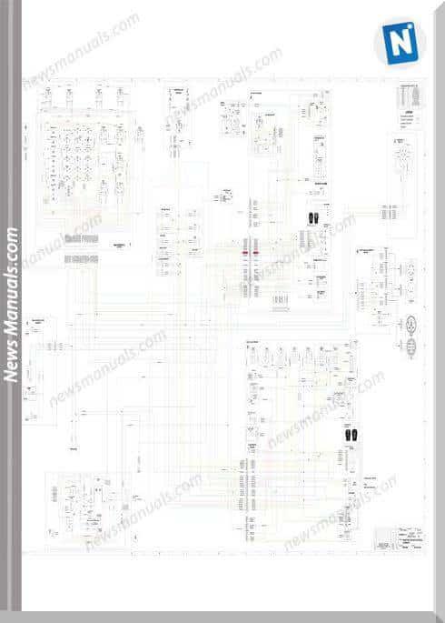 Terex Skid Steer Tsv70-80 Ssl Electrical Schematic