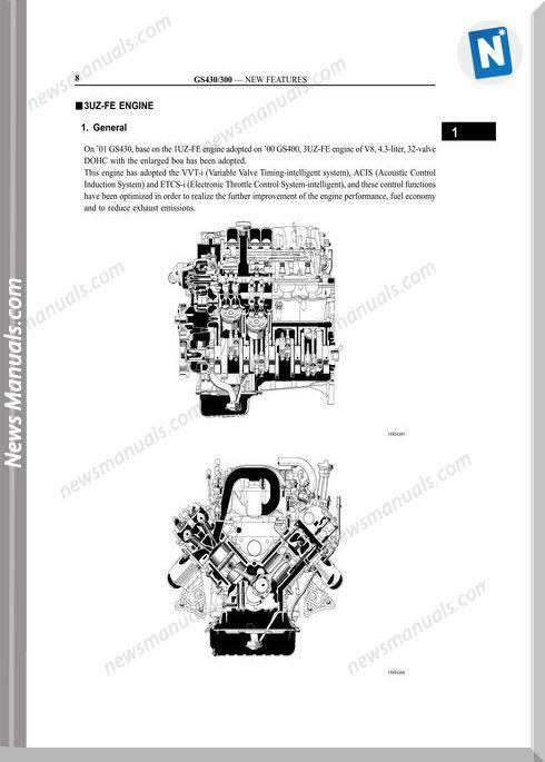 Toyota Engine 3Uzfe Mechanical