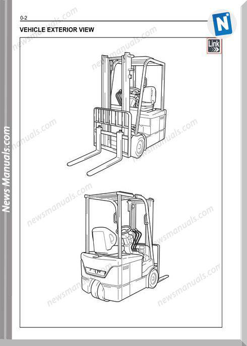 Toyota Forklift 7Fbef 15-20 Models Service Manual
