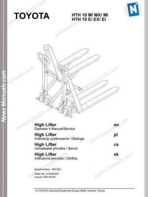TOYOTA All Manuals • Page 8 of 9 • News Manuals