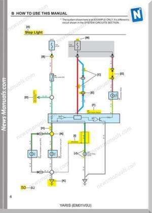 Toyota Yaris 2007 Wiring Diagram