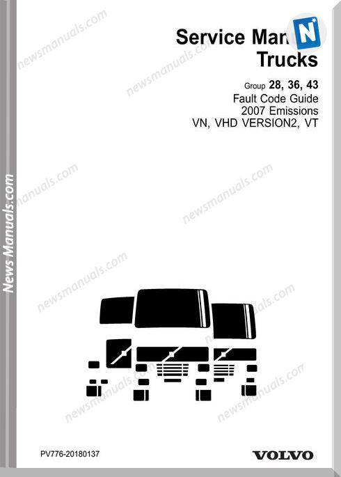 Volvo Fault Codes Guide 2007 Emissions Vn Vhd Version2