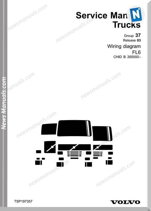 Volvo Fl6-November 2003 Service Manuals