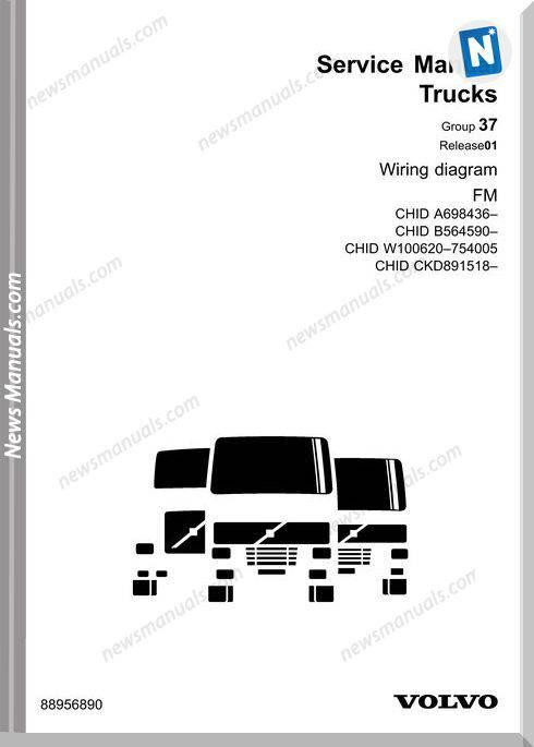 Volvo Fm-A698436-B564590 Service Manual