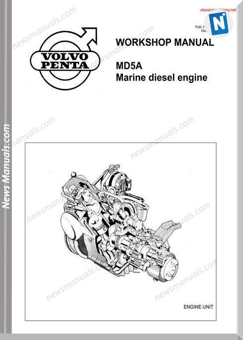 Volvo Penta Md5A Workshop Manual
