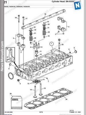 Komatsu Pc340 340Lc 340Nlc 6K Shop Manual