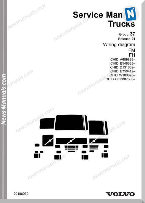 Volvo Truck Fm,Fh Wiring Diagram Chid B 548688