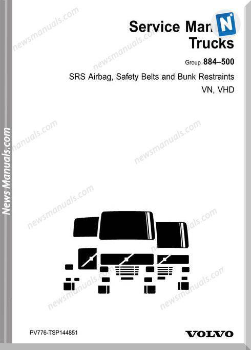 Volvo-Truck Vn Vhd Srs 884 500 Service Manual