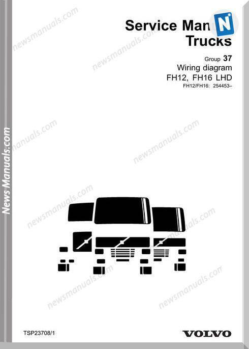 Volvo Tsp23708 Fh12, Fh16 Lhd Service Manual