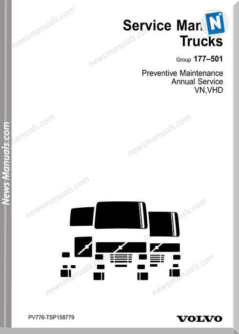 Volvo Vn Vhd Preventive Annual Maintenance Manual