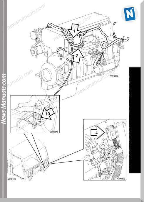 Volvo-Vnl Vnm Cummins Isx-From Wiring Diagram
