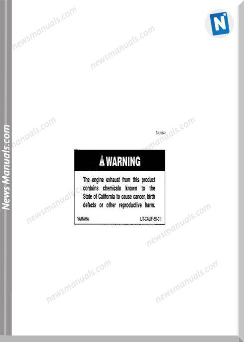 Yamaha Fz6 Ss Ssc 04 Owners Manual