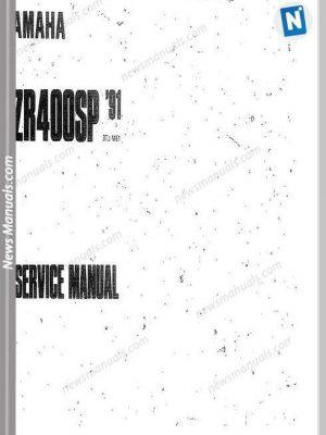 Yamaha Fzr400Sp 91 Service Manual