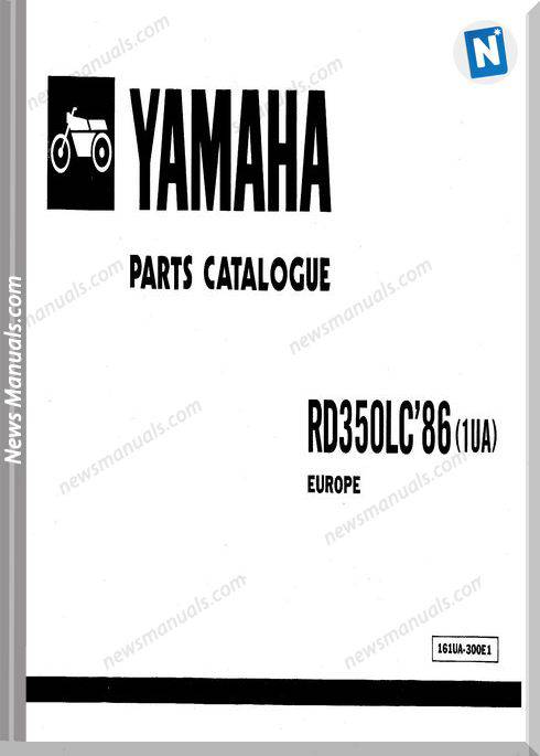 Yamaha Rd350Lc 86 Parts Manual