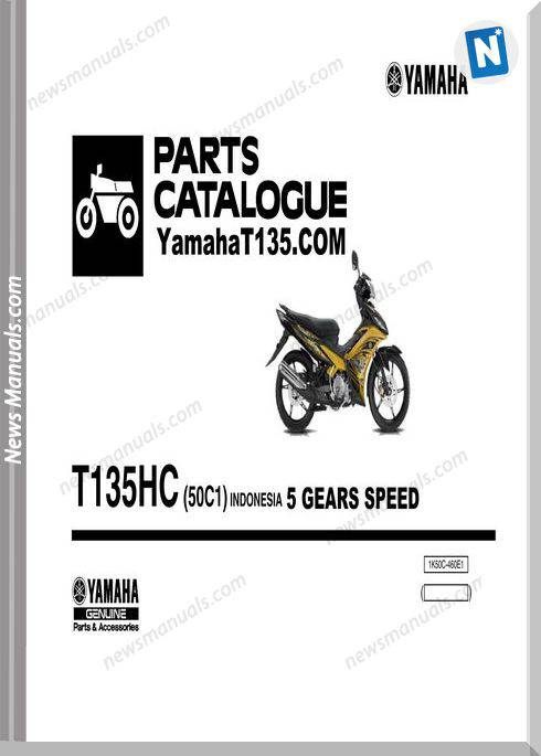 Yamaha T135 2011 Parts Catalog