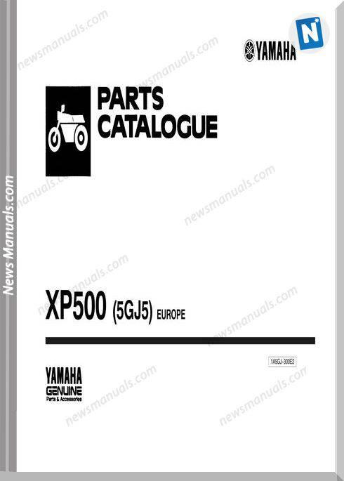 Yamaha Xp500 Parts Catalogue
