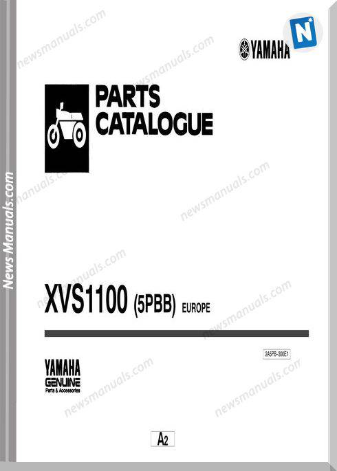 Yamaha Xvs1100 Parts Catalogue